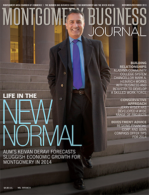 November/December 2013 MBJ, Montgomery Business Journal, Montgomery Chamber, Keivan Deravi