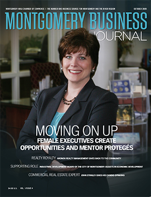 October 2009 MBJ, Montgomery Business Journal, Montgomery Chamber, Elizabeth Braswell
