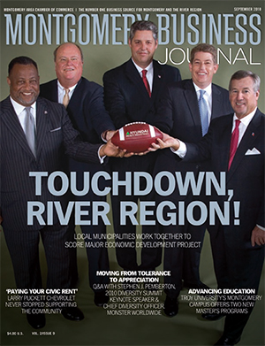 September 2010 MBJ, Montgomery Business Journal, Montgomery Chamber, River Region Economic Development Project