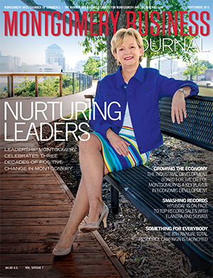 September 2013 MBJ, Montgomery Business Journal, Montgomery Chamber, Leadership Montgomery, Carolyn Bryan