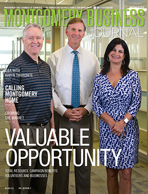 September 2016 MBJ, Montgomery Business Journal, Montgomery Chamber, Total Resource Campaign