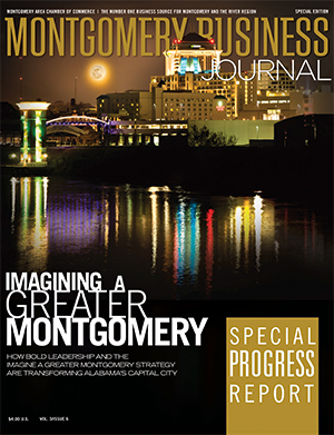 Summer 2011 MBJ, Montgomery Business Journal, Montgomery Chamber, Imagine a Greater Montgomery, Special Progress Report