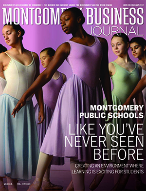 Summer 2012 MBJ, Montgomery Business Journal, Montgomery Chamber, Montgomery Public Schools