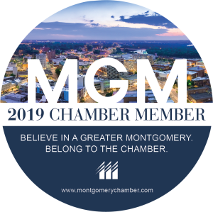 2019 Membership Decal, Montgomery Area Chamber of Commerce, Montgomery Chamber, MGMChamber,Montgomery Alabama