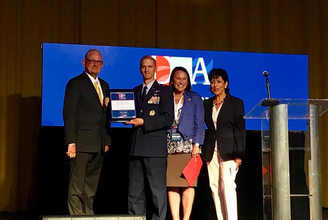 Brig. Gen. Randal Efferson Receives Award
