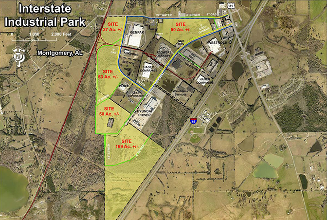 Interstate Industrial Park receives AdvantageSite re-designation