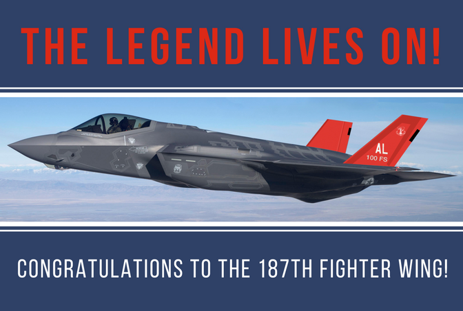 "Montgomery ""Red Tails"" Land the F-35!"