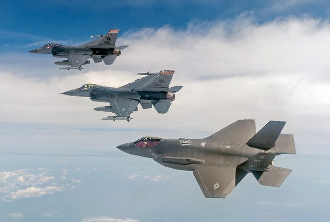Air Force Decides on Final Air National Guard F-35A Bases