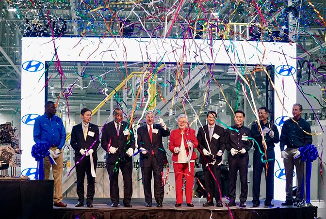 Hyundai Motor Manufacturing Alabama Opens New Cylinder Head Machining Plant