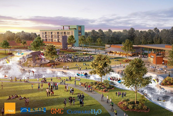 World-Class Outdoor Recreation and Entertainment District: Project Catalyst