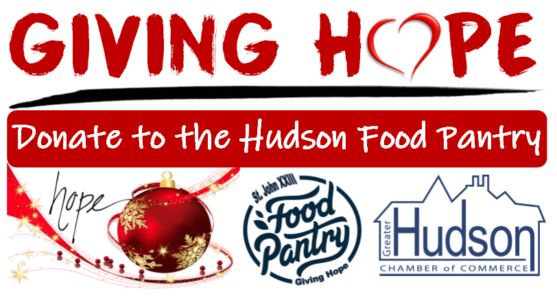 Give Hope Donate to the Hudson Food Pantry