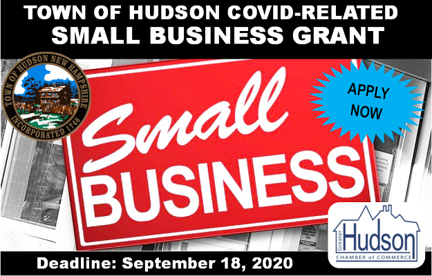 Hudson Small Business COVID Reimbursement Grant