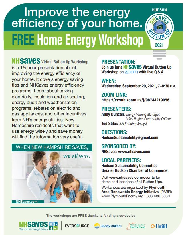 Free Home Energy Workshop