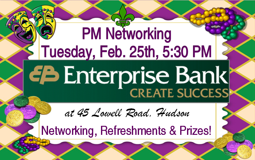 PM Networking with Enterprise Bank