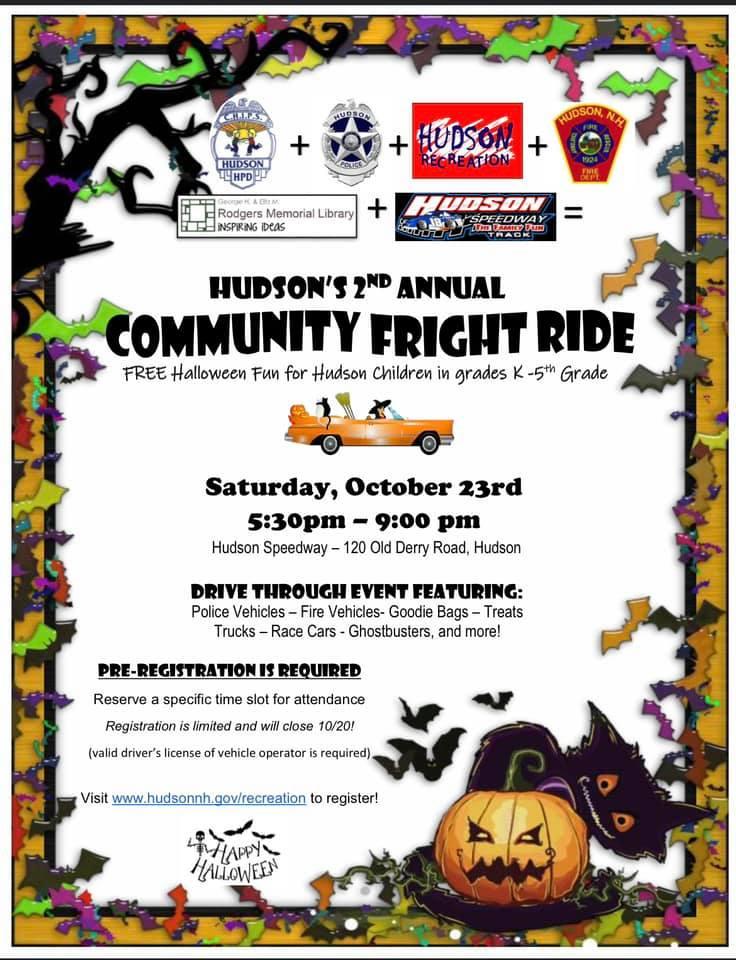 Hudson Community Fright Night Ride