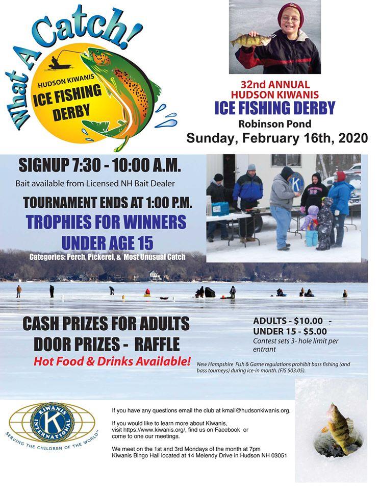 Hudson Kiwanis Fishing Derby