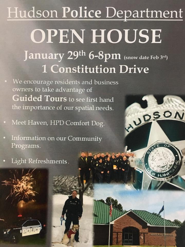 Hudson Police Dept Open House