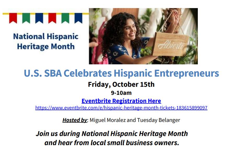 US SBA Celebrates Hispanic Entrepreneurs