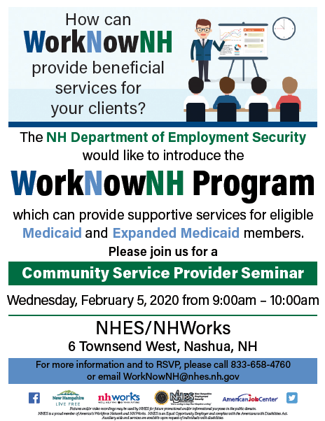 WorkNowNH Program Seminar