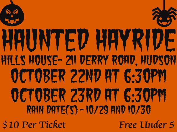 Alvirne HS Haunted Hayride
