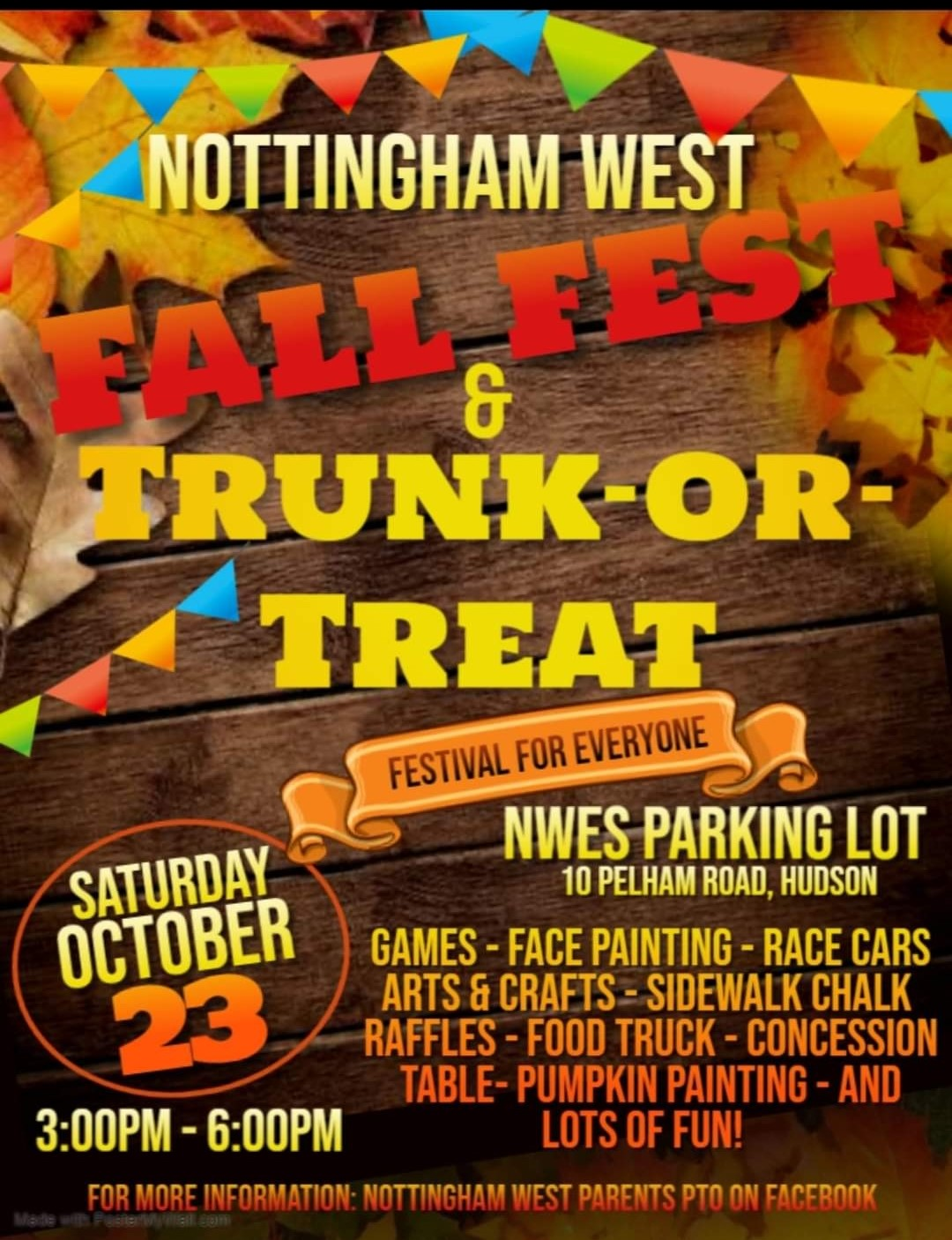 NWES Fall Fest & Trunk-or-Treat