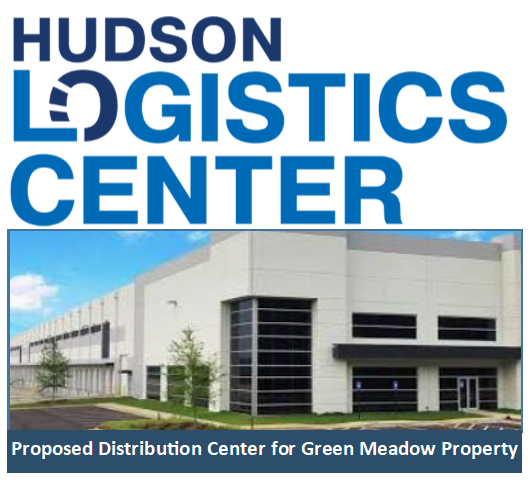 Proposed Distribution Center at Green Meadow Property