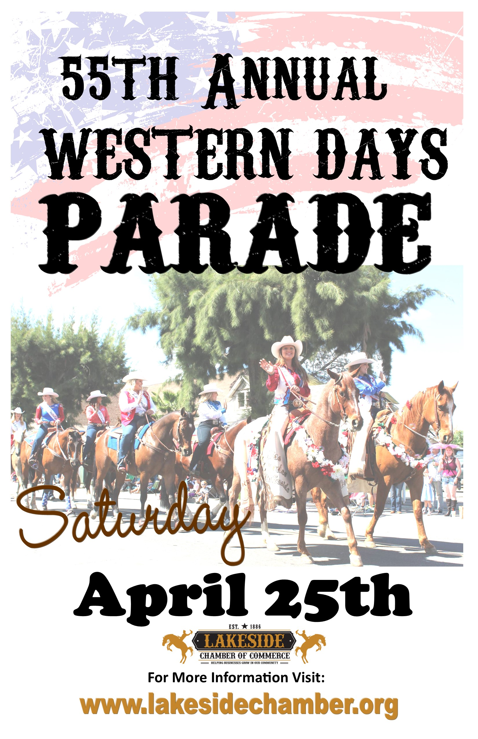 Western Days Parade   Lakeside Chamber of Commerce   CA, CA
