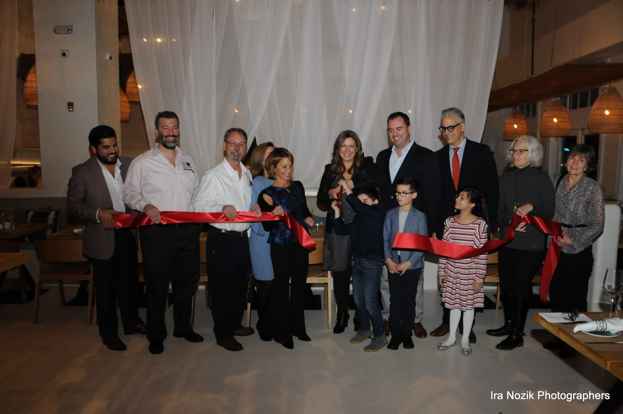Balos Estiatorios Restaurant Ribbon Cutting