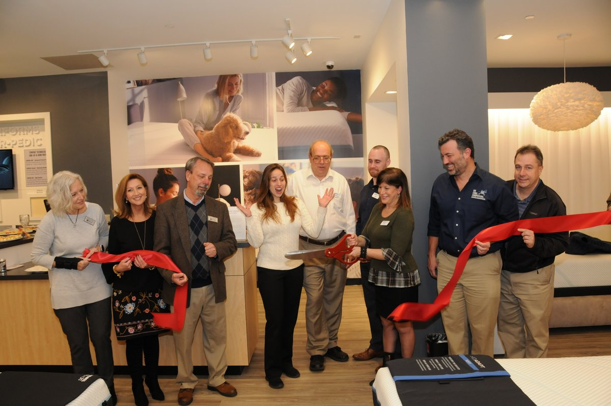 Tempur-Pedic Ribbon Cutting