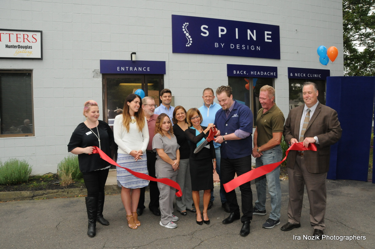 Spine by Design Ribbon Cutting