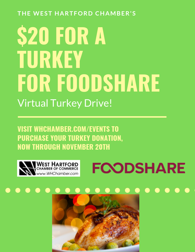 Turkey and a 20 for Foodshare