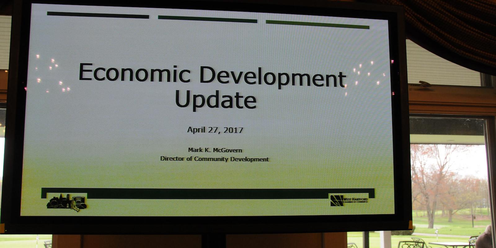 West Hartford Chamber Economic Development Luncheon