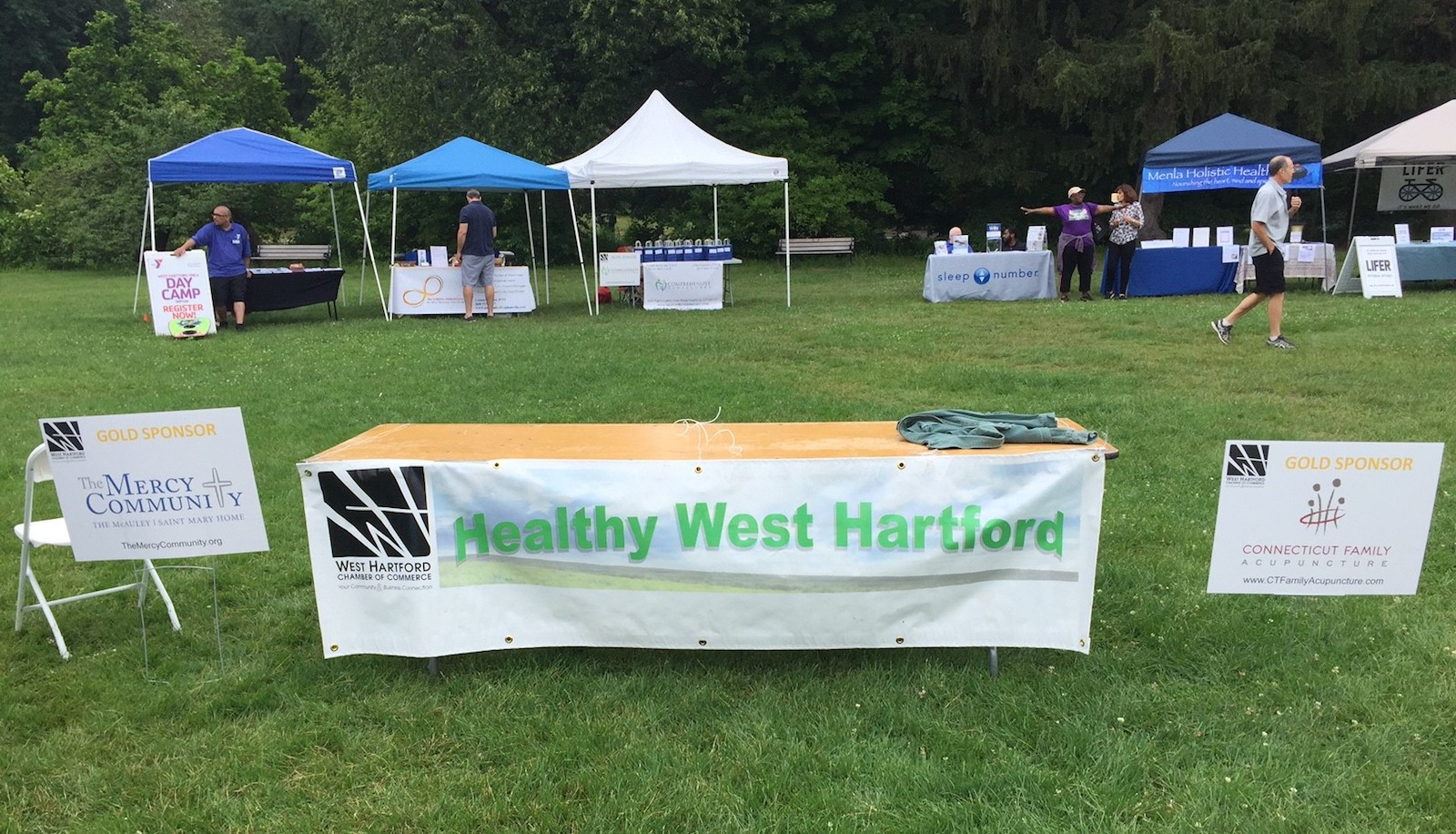 Healthy West Hartford sponsored by the WH Chamber