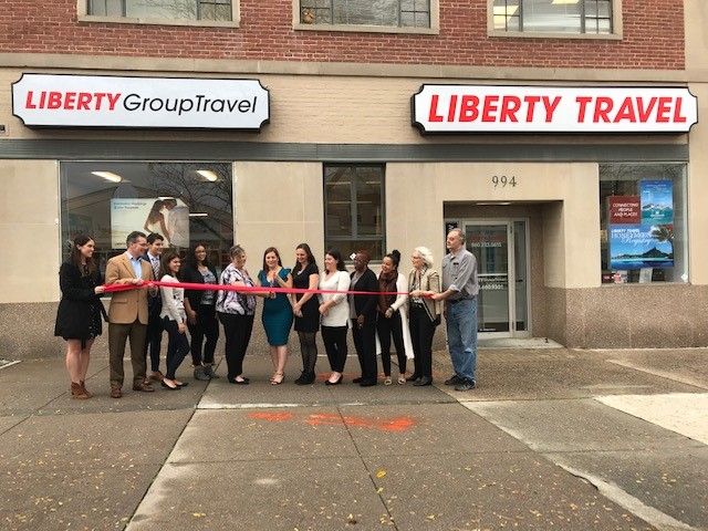 Liberty Travel Ribbon Cutting