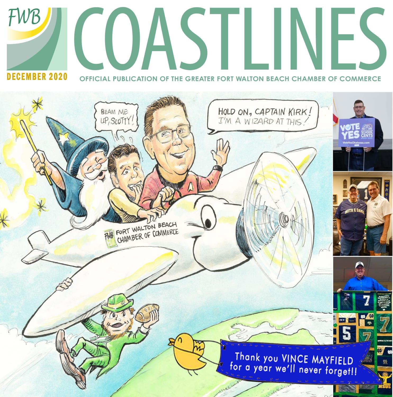 December 2020 Coastlines