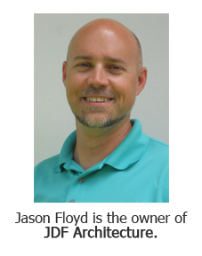 Jason Floyd, the owner of JDF Architecture