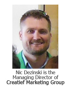 Nic Dezinski, the managing director of Creatief Marketing Group