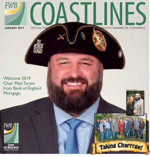 Coastlines Cover, January 2019