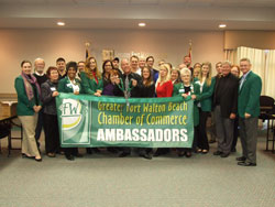 Greater Fort Walton Beach Chamber of Commerce Ambassadors