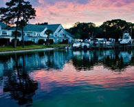 Picture of homes on a scenic Fort Walton Beach waterfront