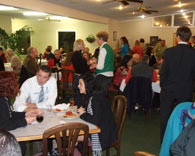 Members enjoying Business After Hours event.