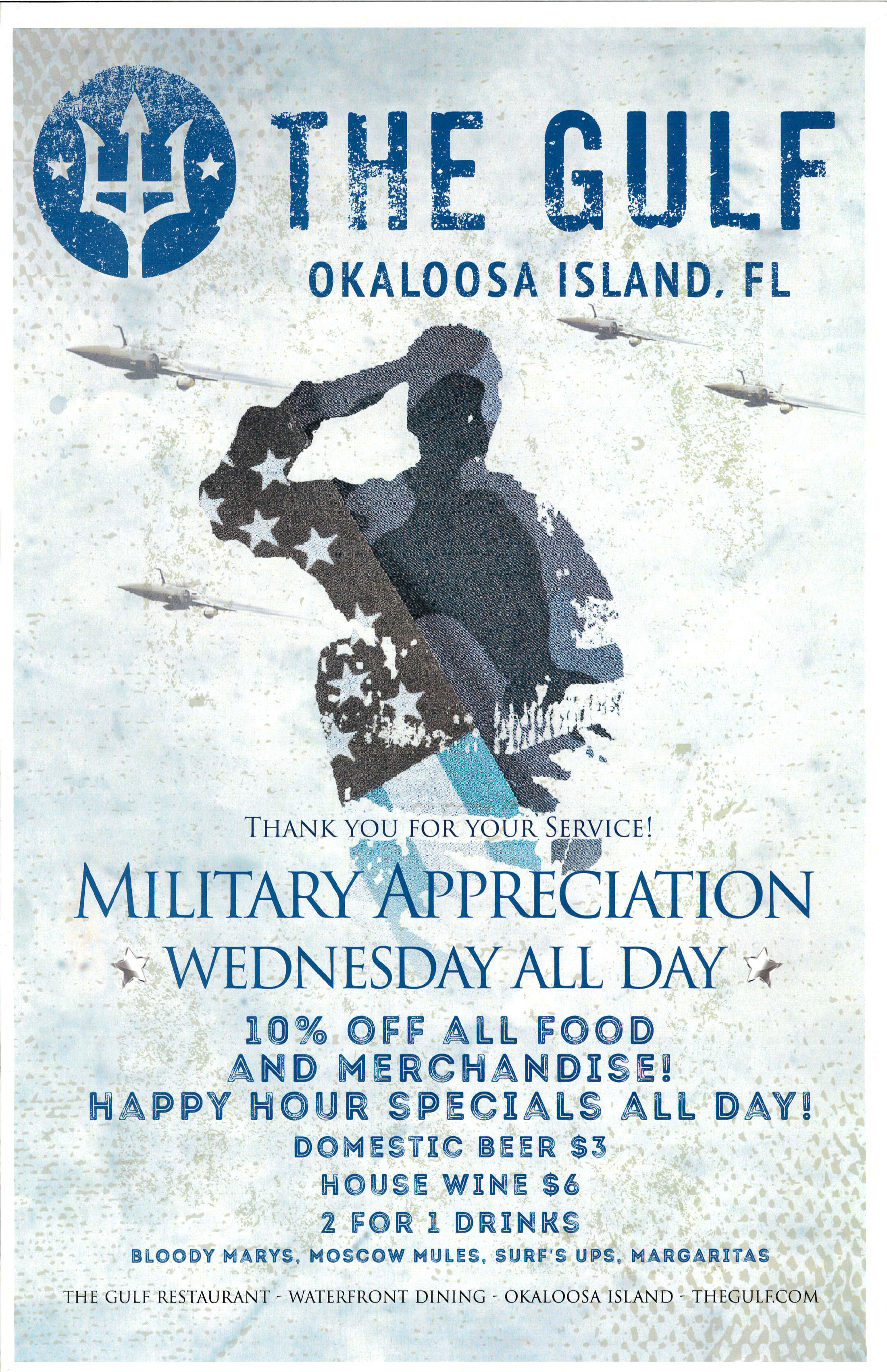 Military Appreciation Wednesdays At The Gulf - Feb 27, 2019 - Greater -9594
