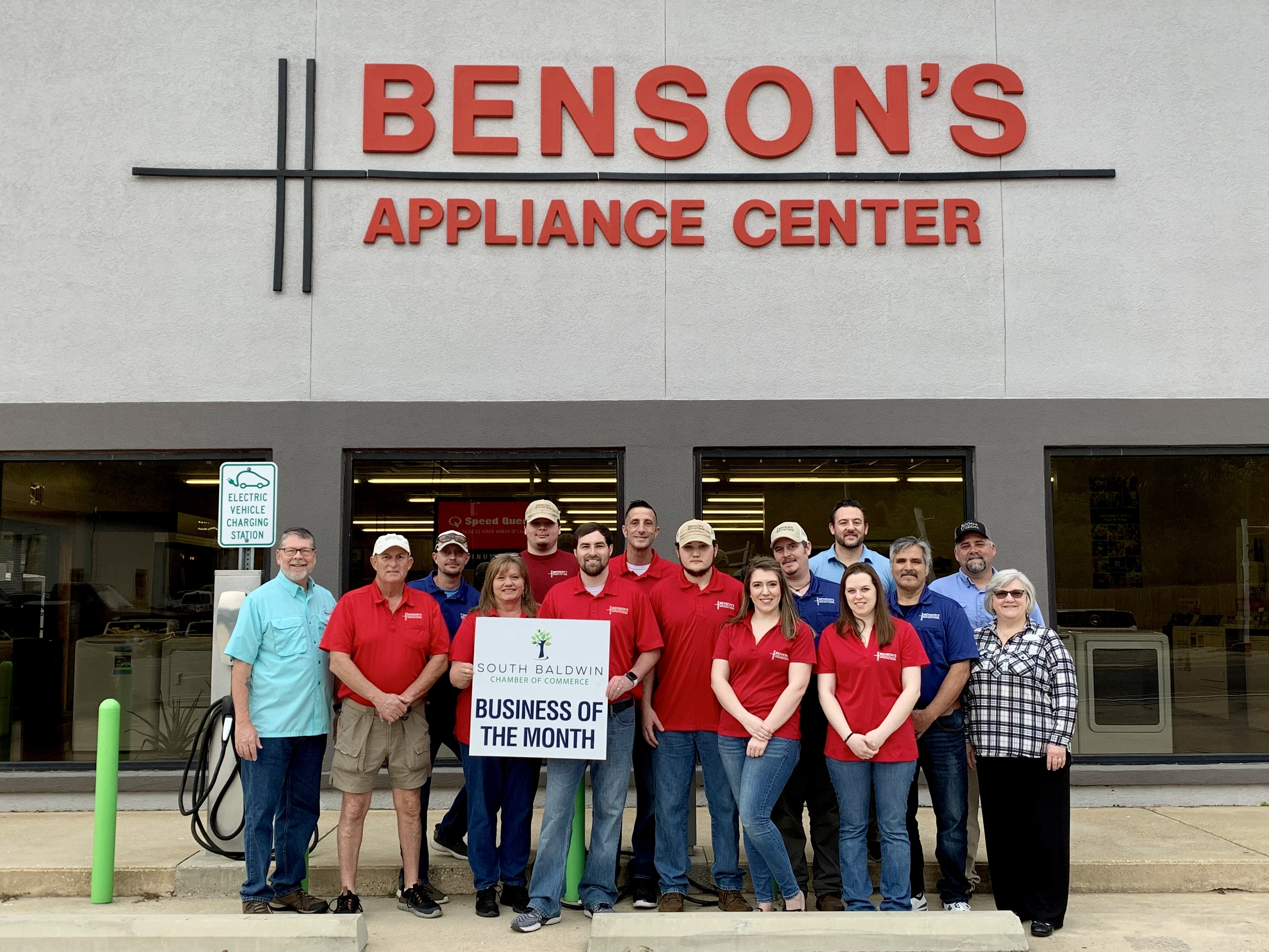 Benson's Appliance Center - Our Business of the Month March 2020