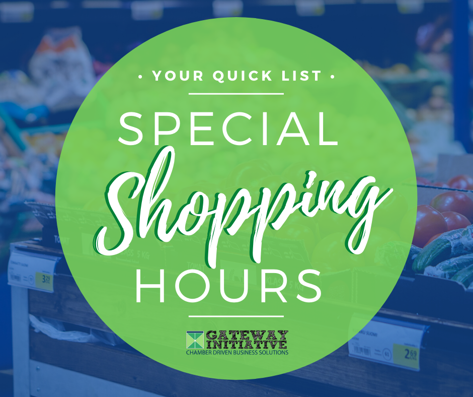 Special Shopping Hours