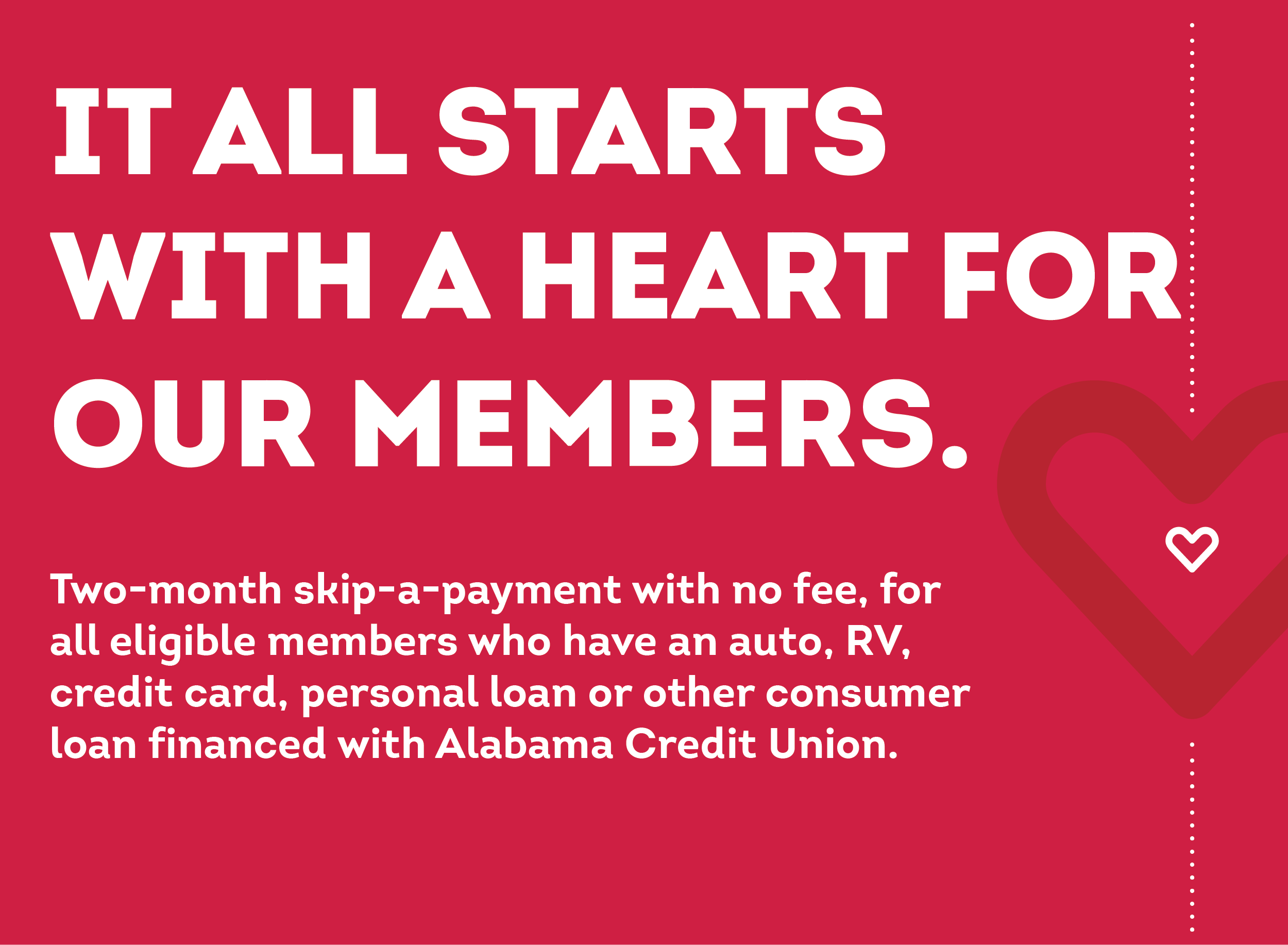 Alabama Credit Union Relief Program (COVID-19)
