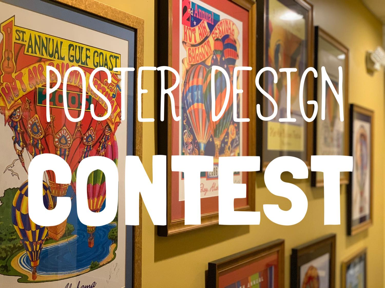 2021 Poster Design Contest for the Gulf Coast Hot Air Balloon Festival