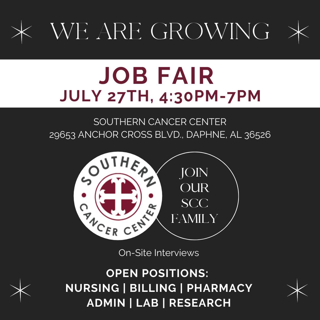 SCC Job Fair July 27 2021