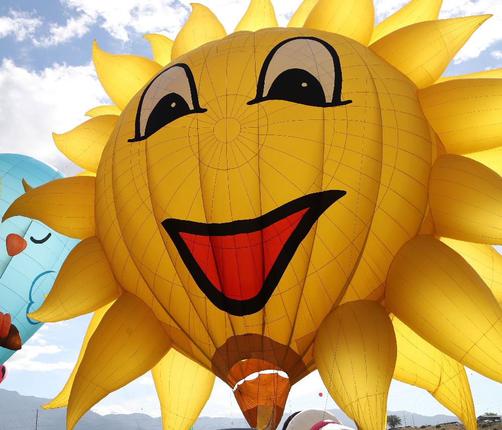 Sunny Boy Hot Air Balloon