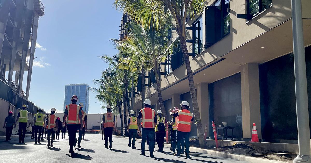 2021 CLC Event: 'A'ali'i Construction Job Site Tour