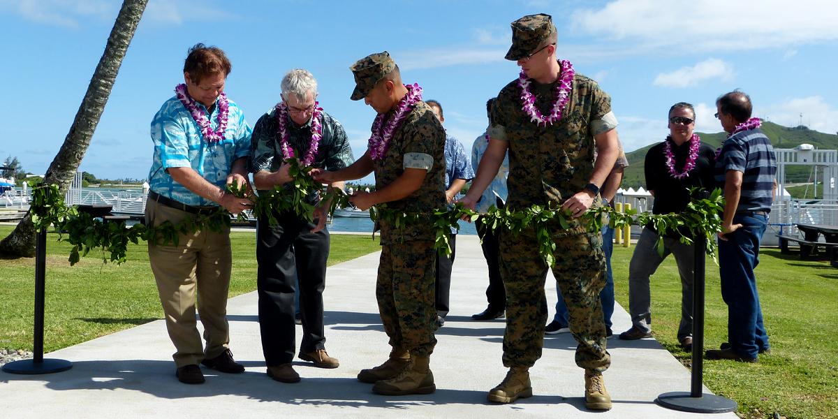 Marina Breezeway at Marine Corps Base Hawaii